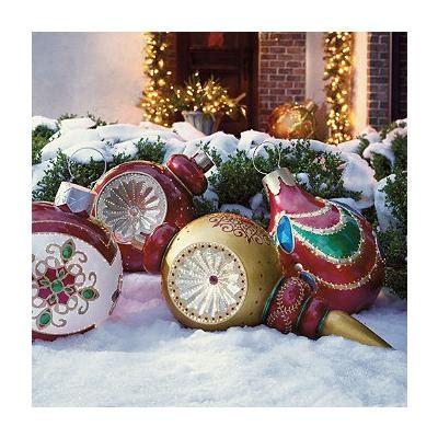 fiber optic led lawn christmas ornament so pretty ornaments fiber optic outdoor decorations
