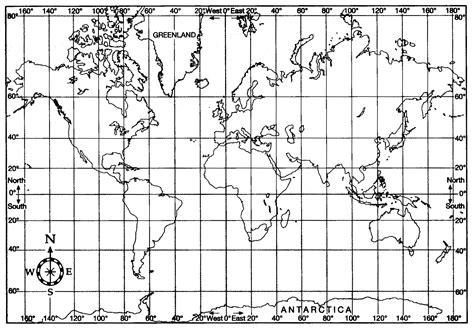 Flat world map with longitude and latitude gumiabroncs Images