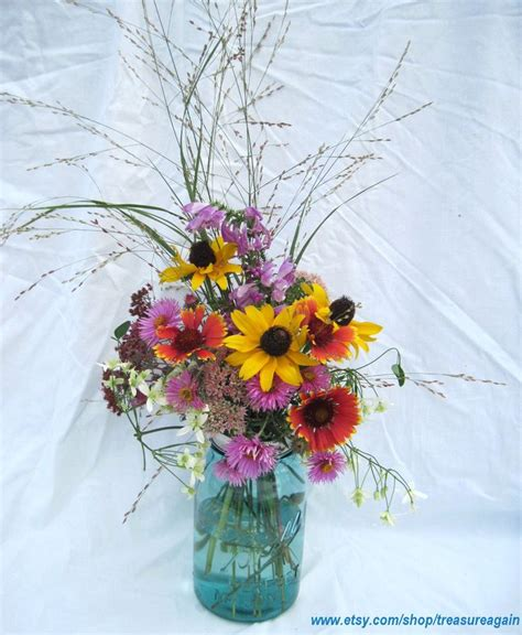 diy wedding flowers mason jars centerpieces 12 upcycled