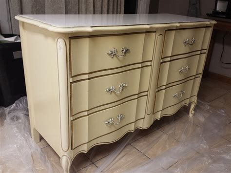 gold dresser ivory gold dixie dresser is there real wood under