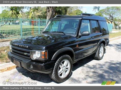 land rover discovery black 2004 java black 2004 land rover discovery se black interior