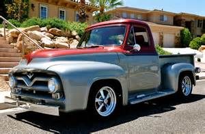 55 Ford Truck 1955 Ford F100 Rods And Choppers Inc