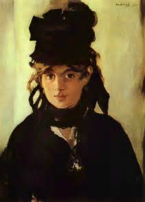 Berthe Morisot In The Dining Room Manet Portraying Life Exhibition On Screen Alberti S Window