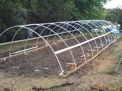 House Construction: Hoop House Construction