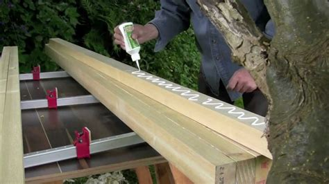 how to make a bench top how to build a workbench part 1 laminating the top