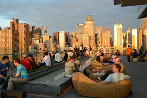 roof top bar in new york rooftop bars manhattan new york best roof 2017