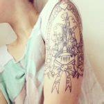 online tattoo viewer geometric tattoo geometric cat tattoo chong037 s