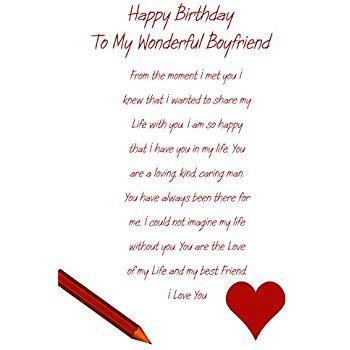 Boyfriend 40th Birthday Card