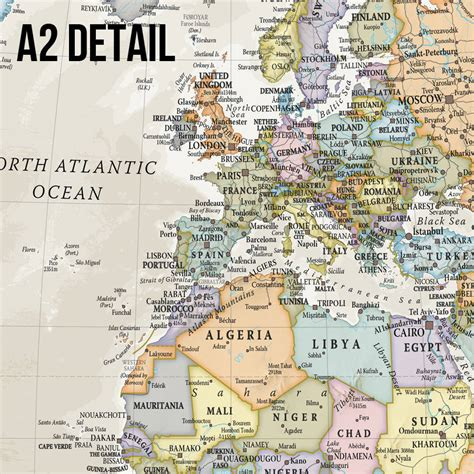 classic maps classic map of the world wall hanging by maps