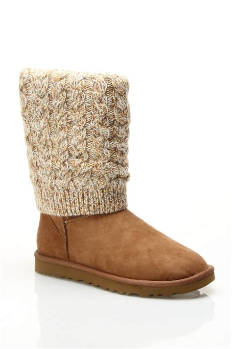 Ugg ladies tularosa route boots in chestnut multicolor