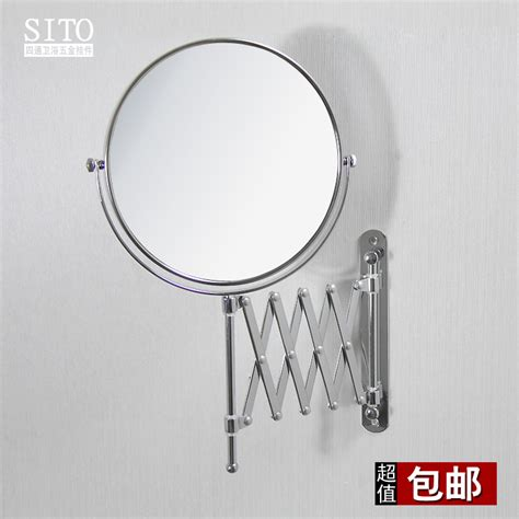 retractable mirror bathroom 6 quot or 8 quot bathroom mirror for makeup cosmetics extendable