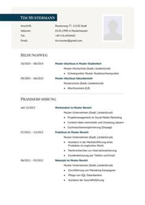Lebenslauf Als Fremdsprache 1000 Ideas About Lebenslauf Muster On Resume Bewerbung And Bewerbung Muster