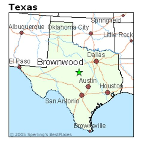 where is brownwood texas on the map best places to live in brownwood texas