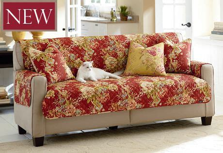 sure fit waverly ballad bouquet sofa slipcover sure fit slipcovers ballad bouquet by waverly furniture