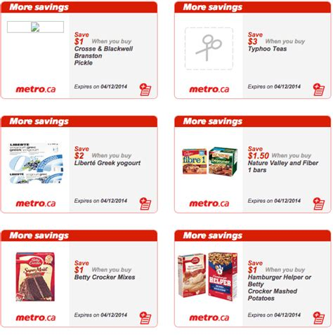 printable grocery coupons ontario canada metro ontario canada new grocery printable coupons