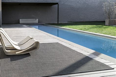 poolside rugs luxury carpets from limited edition combine global influences with belgian craftsmanship