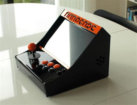 build own arcade cabinet make your own nanocade mini arcade cabinet gadgetsin