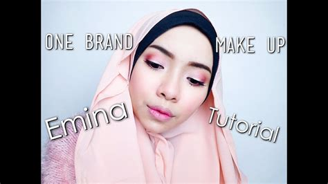 tutorial makeup emina emina one brand make up tutorial cikal ananda youtube