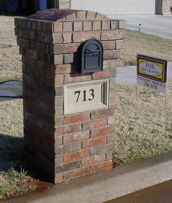 how to decorate a square brick mailbox for christmas how much to build a brick mailbox various optional features of brick mailbox designs home
