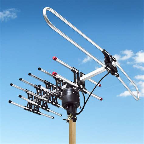 amplified digital p outdoor hdtv hd rotor tv antenna