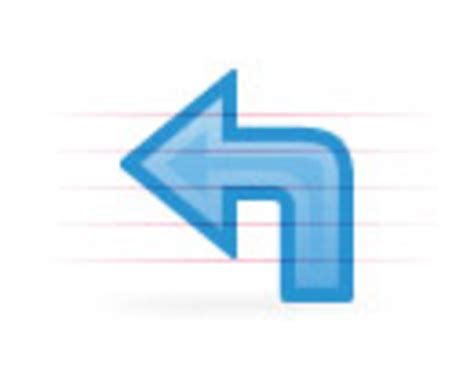 curved arrow visio pin blue curved arrow clip vector royalty free