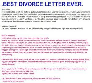 best breakup letter i ve seen divorce quotes for quotesgram