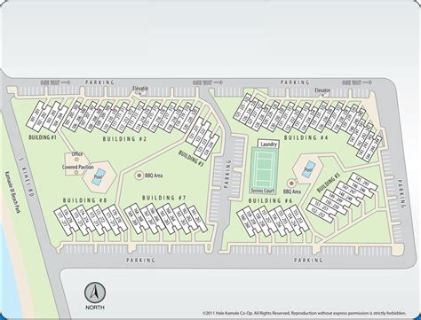 1 Bedroom Home Floor Plans by Hale Kamaole Co Opproperty Map Hale Kamaole Co Op