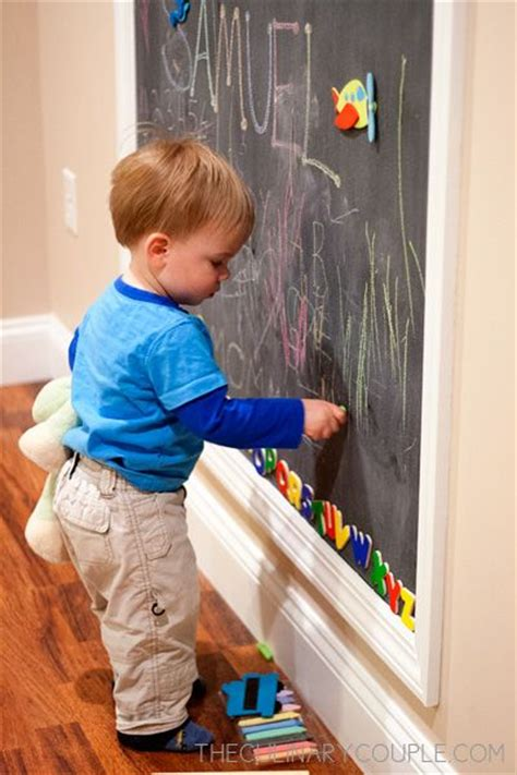 diy chalkboard for toddlers best 25 magnetic chalkboard walls ideas on