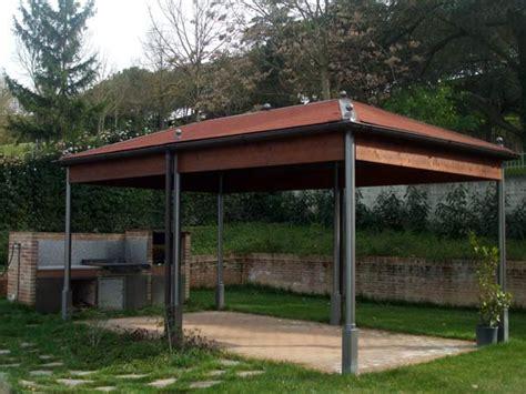 gazebo in ferro zincato gazebo da giardino ravenna faenza vendita strutture in
