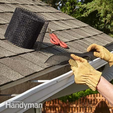 how to install gutters 12 steps ehow the best gutter guards for your home the family handyman