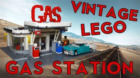 Lego Vintage 1 lego vintage gas station