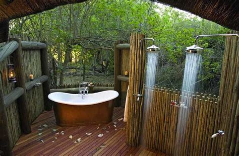 outside bathroom ideas coolest outdoor showers terrys fabrics s