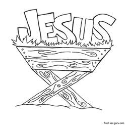 coloring pages jesus you print out jesus in the manger coloring pages