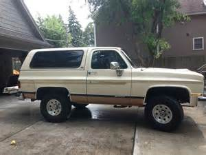 1989 Chevrolet K5 Blazer Sell Used 1989 Chevy K5 Blazer In La Grange Illinois