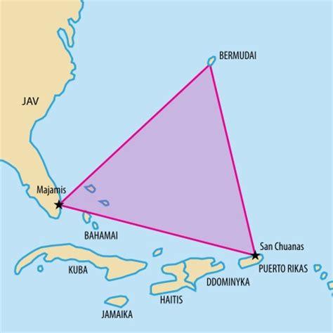 bermuda triangle map bermuda triangle