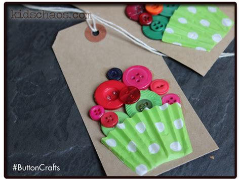 cupcake crafts for button crafts button cupcakes crafts