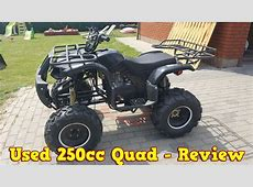 Cheap Chinese 250cc Quad ATV After 2 Years - Review + Test ... 250cc Atv Engines For Sale