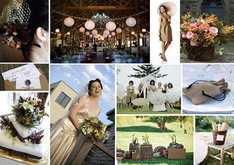 Country Chic Wedding Decor by Country Chic Theme One White Dress