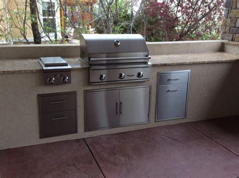 outdoor kitchen appliances reviews custom outdoor kitchen installed in longmont colorado hi