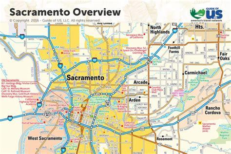 sacramento california map map of sacramento map3