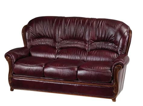 Genuine Leather Sofa Ef Shana Traditional Sofas Real Leather Sofa