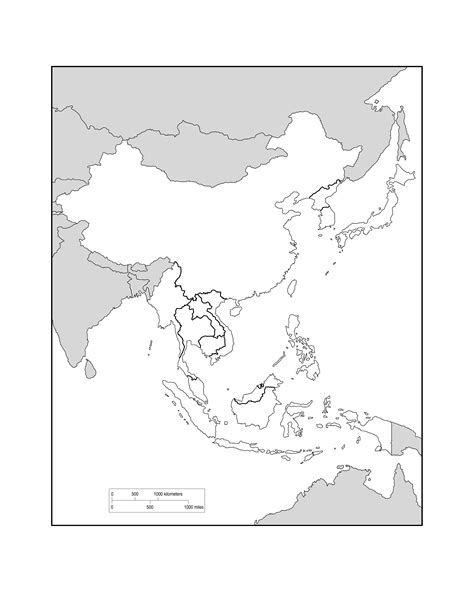 blank map of south asia southeast asia blank map roundtripticket me