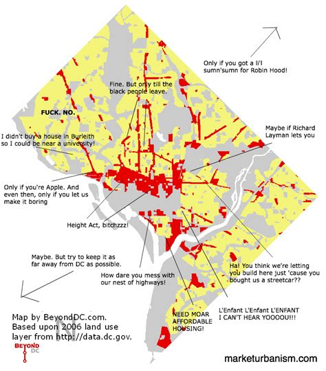 dc zoning map annotated simplified dc land use map market urbanism