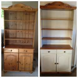my welsh dresser before after painted using annie sloan