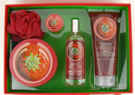 Gift Strawberry The Shop the shop strawberry bath gift set