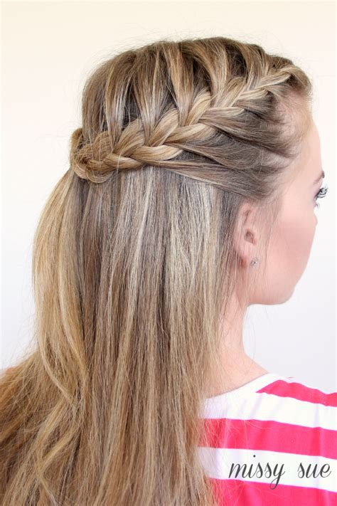hairstyles half braids braid 11 half up french braids