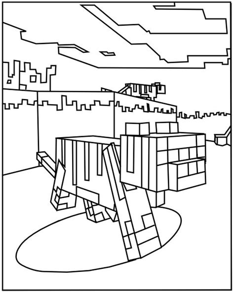 minecraft coloring pages coloring minecraft and
