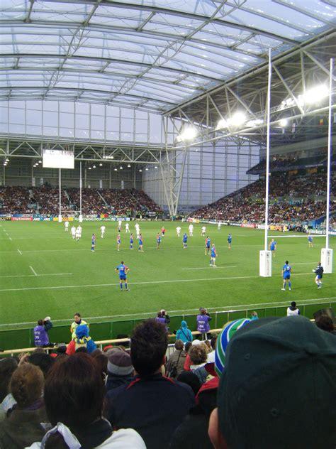 rugby world cup  england  romania  otago stadium