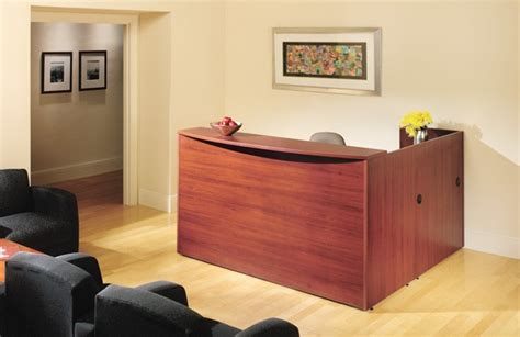 Big Island Front Desk by Bina Discount Office Furniture Bina Reception Desk