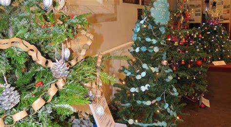 sturminster marshall christmas tree festival mags4dorset